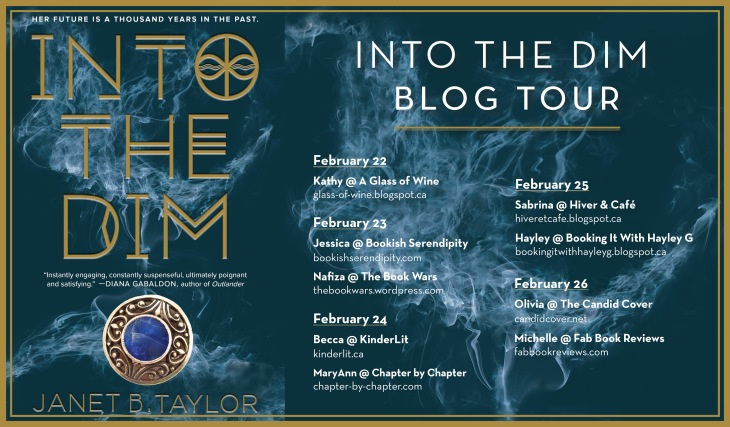 Into The Dim Blog Tour Evite